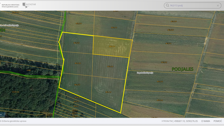 Poljoprivredno zemljište Podjales